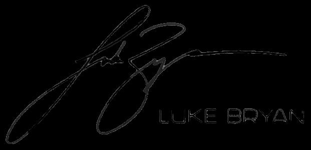 Luke Bryan signature