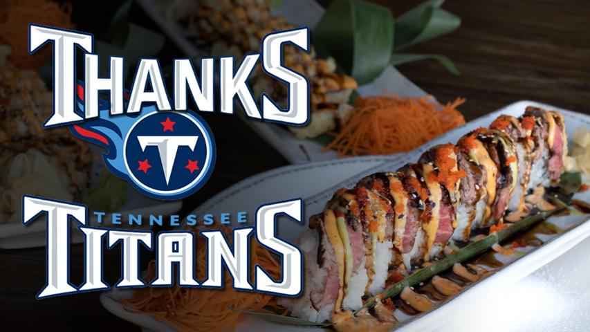 Thanks Titans